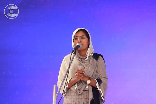 Speech in English by Netra Surve, Oras