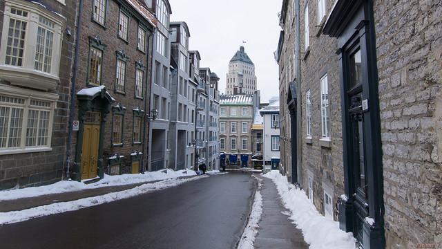 Hiver, winter - Rue du Vieux Québec, Québec, Canada - 5627