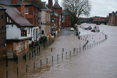 Flooded Kings Arms York