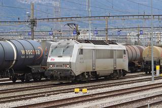 001. Une Sybic, BB 426118 SNCF en gare de la Praille, Genève (17.02.2020)