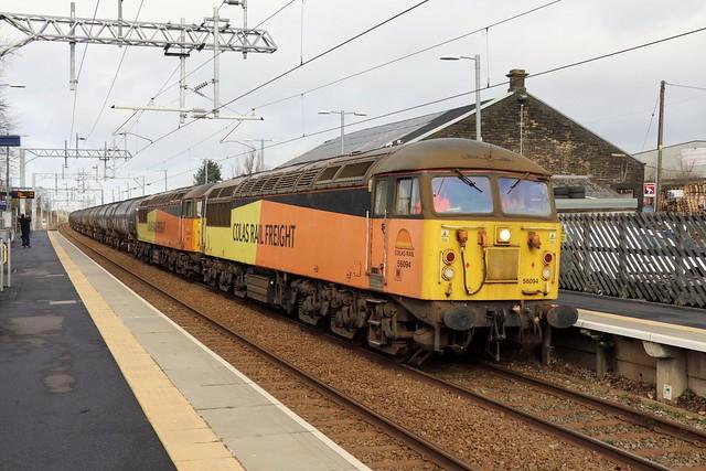 56094 & 56078 - 6Z33 (Blackrod).