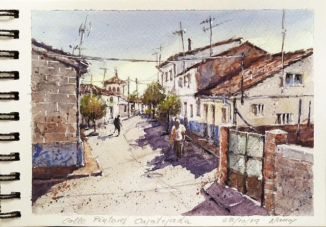 Casatejada 72. Calle de los Pintores.