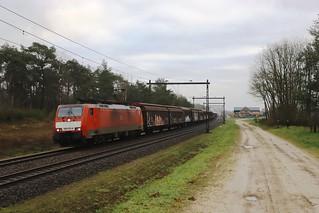 DB 186 070-6 - Holten  - 14/02/2020.