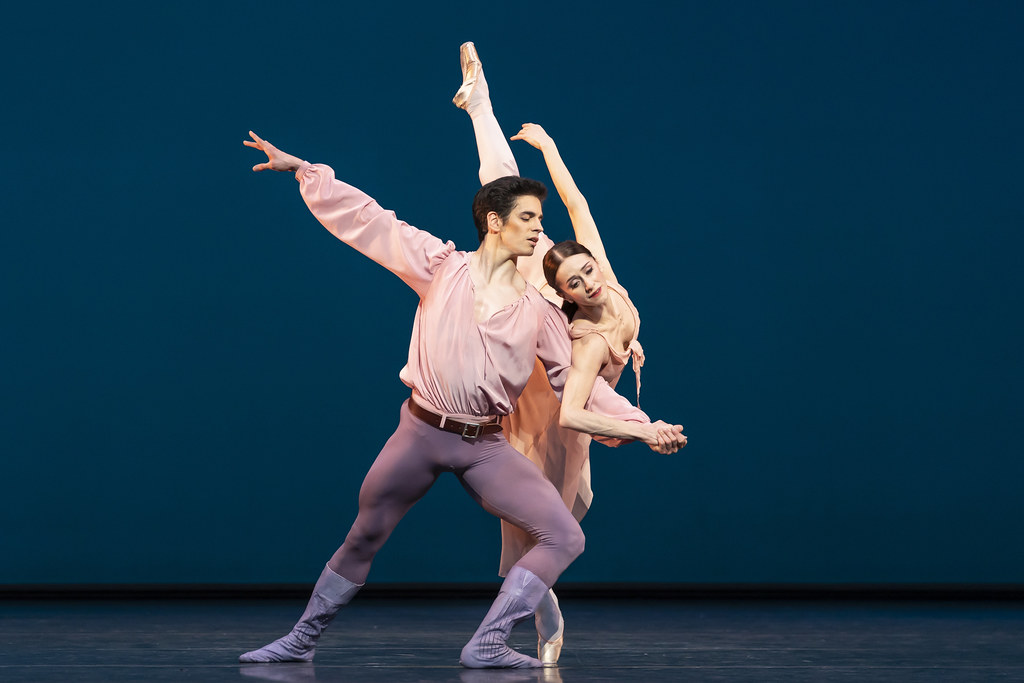 Federico Bonelli and Marianela Nuñez in Dances at a Gathering, The Royal Ballet ©2020 ROH. Photograph by Bill Cooper