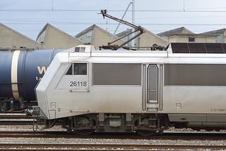 007. Une Sybic, BB 426118 SNCF en gare de la Praille, Genève (17.02.2020)