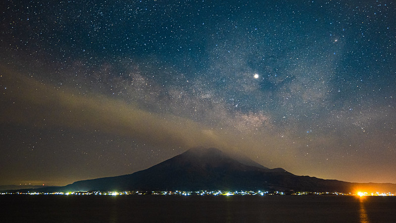 櫻島火山|鹿兒島