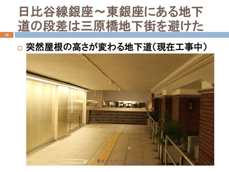 東京オリンピックに向けて銀座の地下で何が起こっていたのか (28)