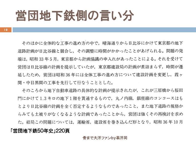 東京オリンピックに向けて銀座の地下で何が起こっていたのか (18)