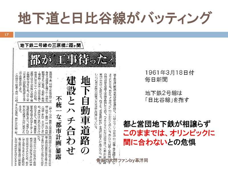 東京オリンピックに向けて銀座の地下で何が起こっていたのか (17)