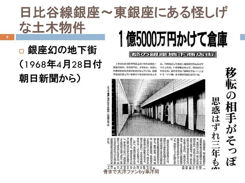 東京オリンピックに向けて銀座の地下で何が起こっていたのか (9)