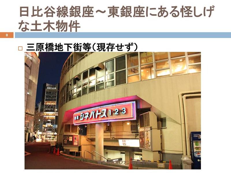 東京オリンピックに向けて銀座の地下で何が起こっていたのか (8)