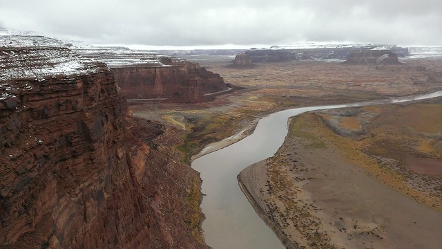 Dirty Devil River from the Hite Overlook, Glen Canyon National Recreation Area  11/24/2013