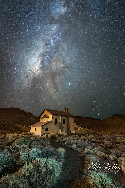 The church under the stars ...