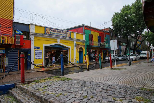 La Boca Street Scene