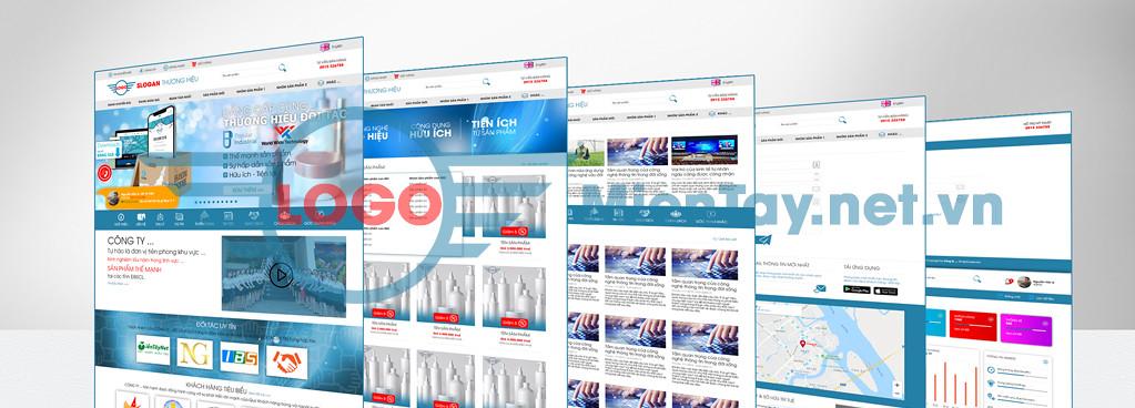 Thiết kế web CÓ SẴN (Framework) - Giới Thiệu Doanh Nghiệp