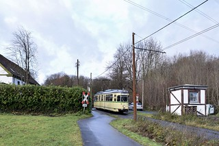 VhAG BOGESTRA I DÜWAG GT6 I 40 I 310 WIT-Heven Heven Dorf I Witten, Papenholz