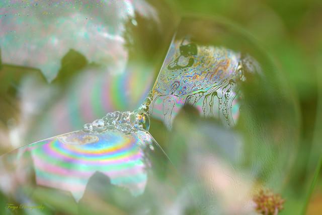 Bubble art...