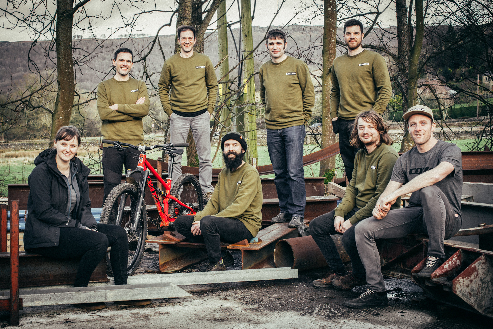 bike mechanic, cotic staff photo, work for cotic, uk made
