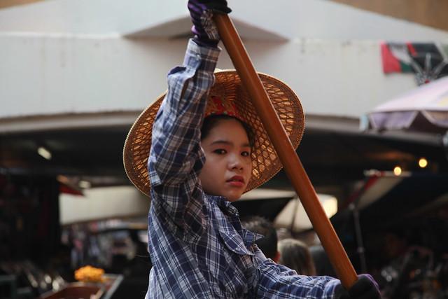 Floating market / Damoen Saduak