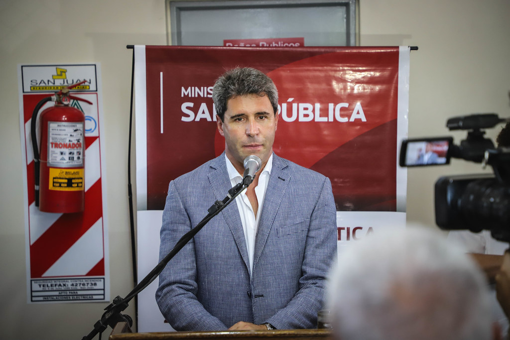 """2020-02-17 PRENSA: Dijo Sergio Uñac: """"la salud es un derecho de todos los sanjuaninos que el estado debe garantizar"""""""