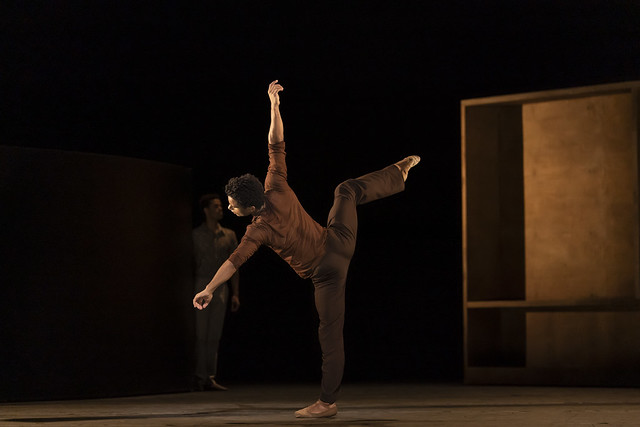 Marcelino Sambé in The Cellist, The Royal Ballet ©2020 ROH. Photograph by Bill Cooper