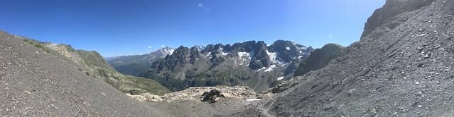 Panoramique lors de l'ascenssion du Buet