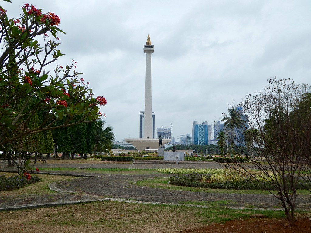 Freedom Tower, Merdeka Square Park Jakarta