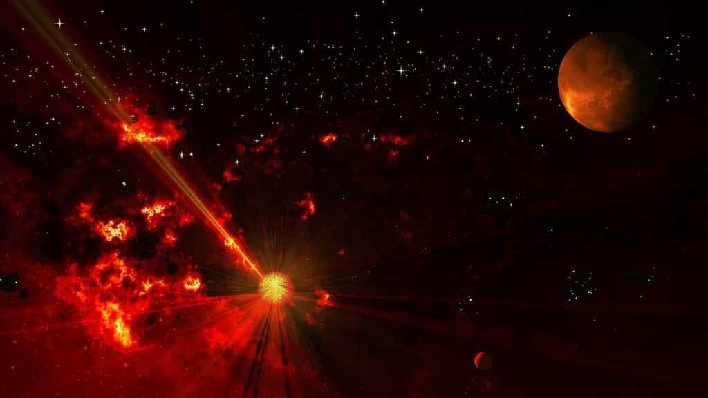 une-exoplanète-génère-des-ondes-radio-à-partir-de-son-étoile-nain-rouge
