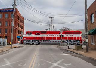 TRRA 4001 (SD60I) TRRA Job 101 St.Louis, Missouri
