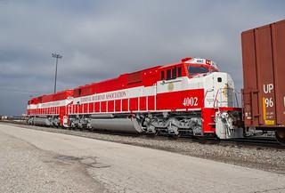 TRRA 4001, 4002 (SD60I) TRRA Job 101 St.Louis, Missouri