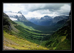 The St. Mary Valley of Glacier National Park