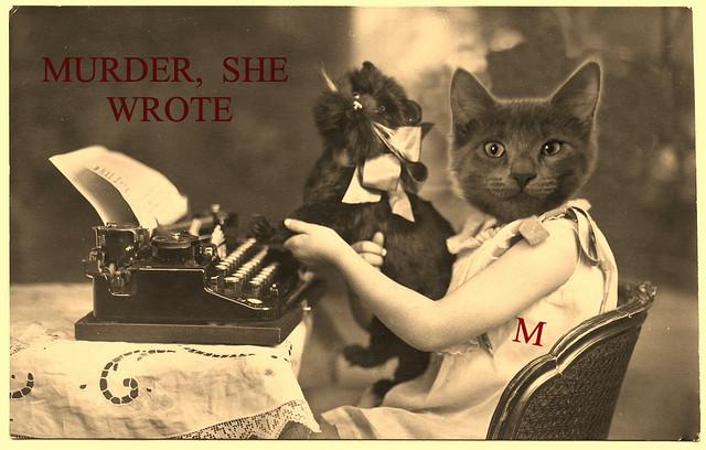 Murder, She Wrote.🙀