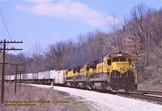 (SEE & HEAR)---NYSW 4048, R135, Dawson, PA. 4-13-1990