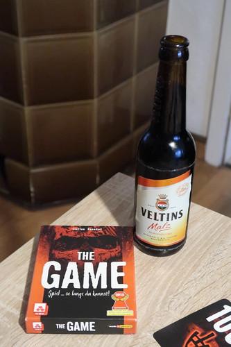 """Veltins Malz zum kooperativen Kartenspiel """"The Game"""""""