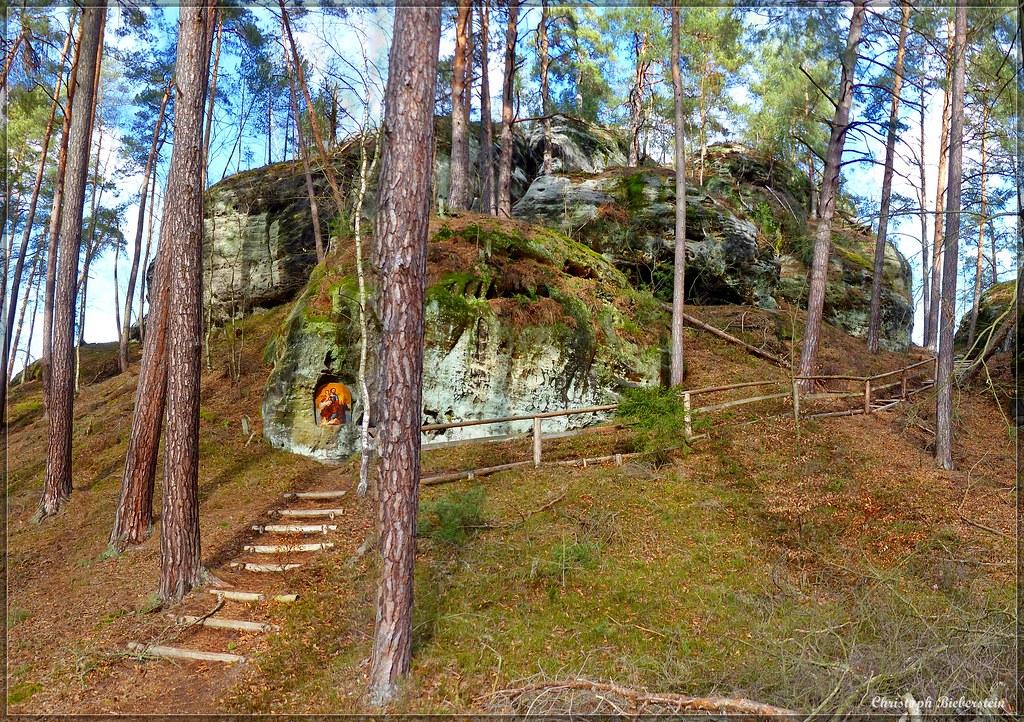 Aufstieg zum Treppenstein