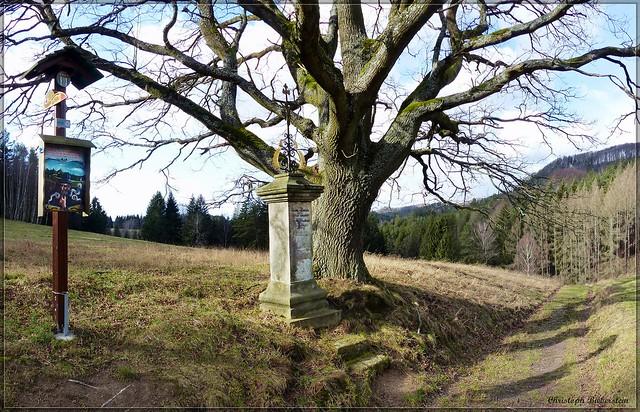 Johanka-Michel-Flurkreuz bei Dittersbach