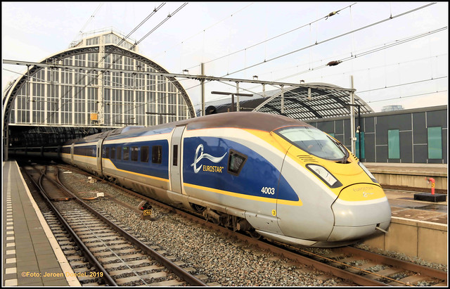 EMU Eurostar 4003 @ Amsterdam Centraal (NL)