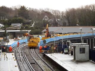 Hayle Viaduct works 17.2.2020
