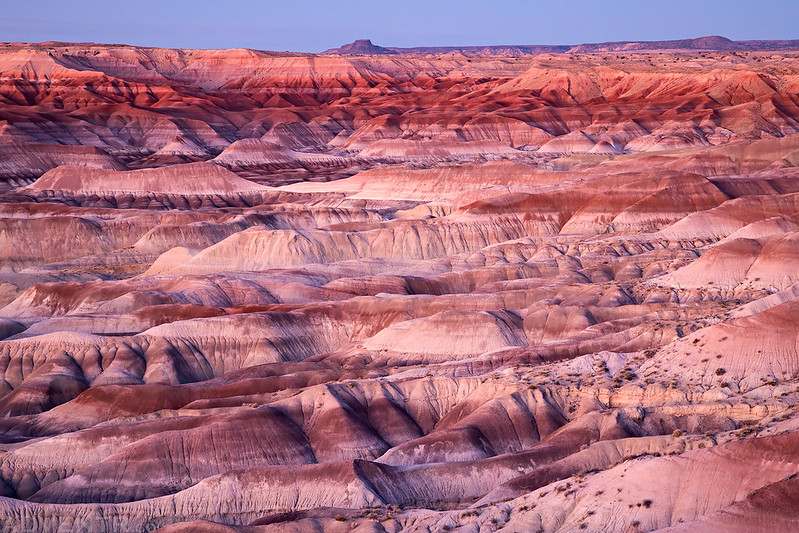 Little Painted Desert at Dusk