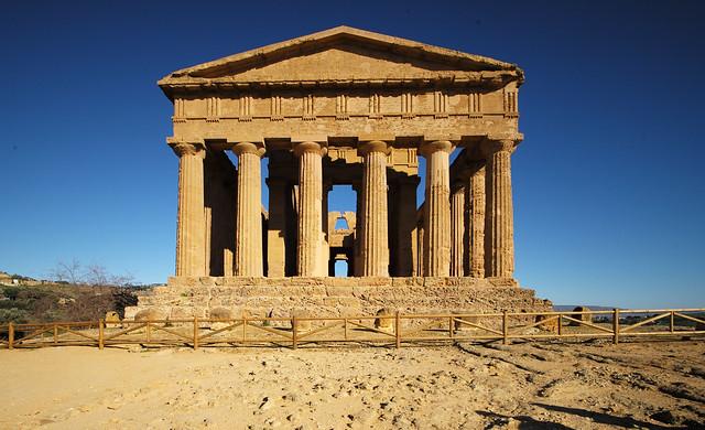 Tempio della Concordia, Valle dei Templi, Agrigento, Sicily, February 2020 112