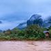 Early morning *Nam Song river * Laos album