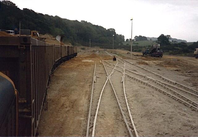 Thrislington Quarry yard, Ferryhill, County Durham. c 1986-88