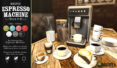 MadPea Espresso Machine @ManCave