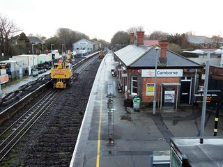Camborne Station works 17.2.2020