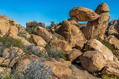 Looking Back at Balanced Rock