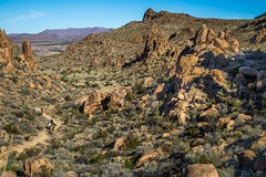View Towards Trailhead, Balanced Rock