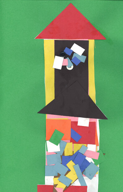 "Gateway School Student Art Show: ""Taking Shape: Explorations in Collage"""