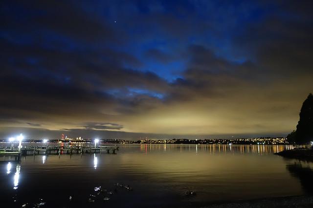 Evening at Moss Bay