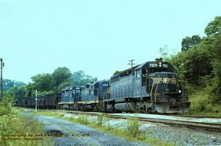 (SEE & HEAR)---WM 7571 BO 6428 6949 coal ext, Balt, MD 6-17-78sm FLIC