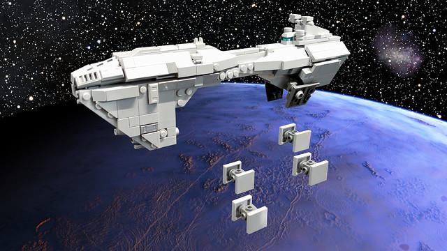 Nebulon-B Escort Frigate Sentinel (Imperial Configuration)